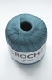 Пряжа Oke Crochet, 100% хлопок, цвет морской волны