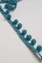 Тесьма-шарики Matsa, цвет ярко-бирюзовый