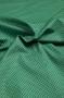 """Ткань """"Бордовый горошек на зеленом"""""""