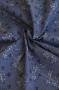 """Ткань """"CENTENARY COLLECTION"""" цветы на синем"""