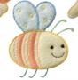 """Термоаппликация """"Пчелка"""""""