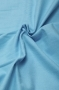 Ткань фланель однотонная ярко-голубая