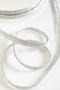 Кант декоративный, цвет серебристый люрекс
