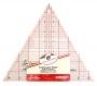 Линейка для пэчворка, треугольная