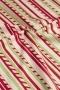 """Ткань """"Purely Christmas"""" полоски на белом"""