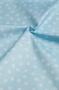 """Ткань """"Снежинки на голубом"""""""