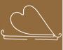 """Держатель для панно """"Сердце"""", средний"""
