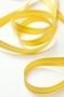 Косая бейка атласная, ширина 12 мм, желтая