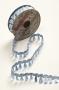 Тесьма-кисточки голубая