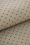 Канва Murano Petit Point коричневый горошек