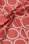 """Ткань """"Pearl Bracelets"""" красная"""