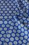 "Ткань ""Urban Chic"" медальоны на синем"