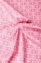 """Ткань """"Summer Song 2"""" орнамент на розовом"""