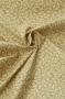 """Ткань """"Gentle Breeze"""" орнамент на коричневом"""