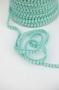 Тесьма с мини-помпонами нежно-бирюзовая