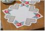 """Набор для вышивания в технике Хардангер, салфетка """"Розы"""""""