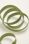 Косая бейка атласная, светло-зеленая, 12 мм