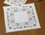 """Набор для вышивания в технике Хардангер, салфетка """"Земляника"""""""