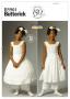 """Выкройки """"Нижняя юбка для маленькой Леди"""" маленькие размеры"""