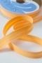 Косая бейка хлопковая, бледно-оранжевая