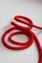 Шнур хлопковый красный, шир. 5 мм