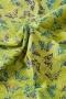 """Ткань батик """"MADAME BUTTERFLY"""" бабочки на зеленом"""